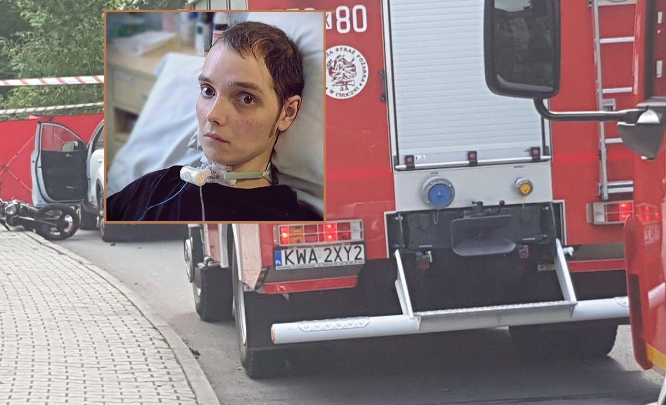 Po wypadku na motocyklu Piotrek walczy o powrót do zdrowia