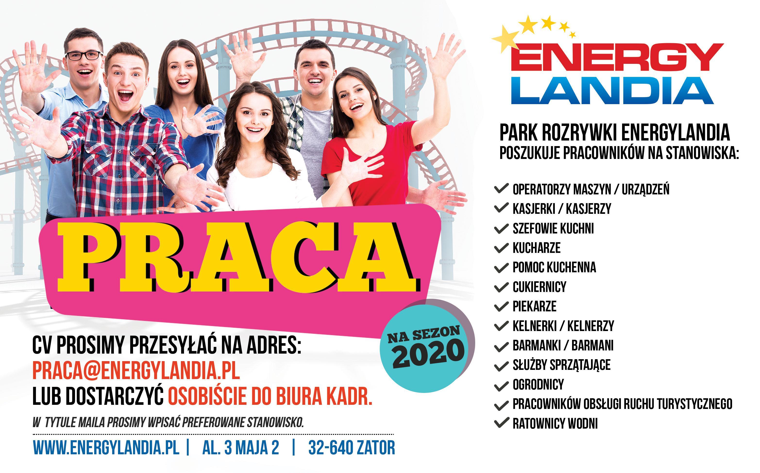 Nabór pracowników do Energylandii