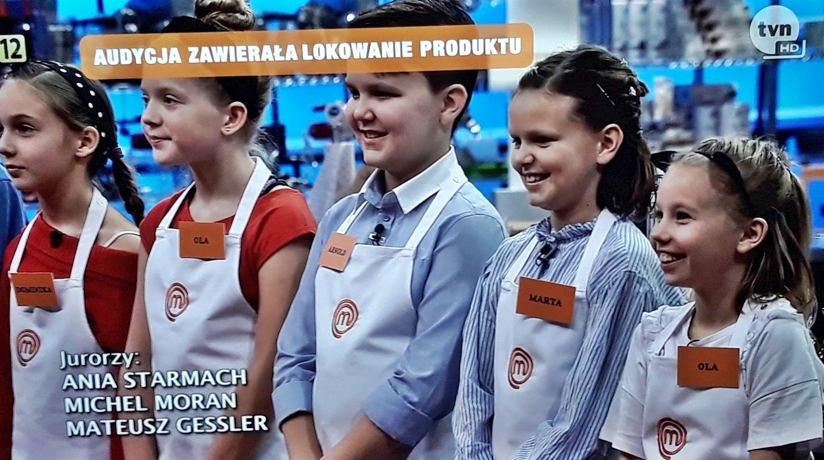 MasterChef Junior z udziałem Oli z gminy Andrychów