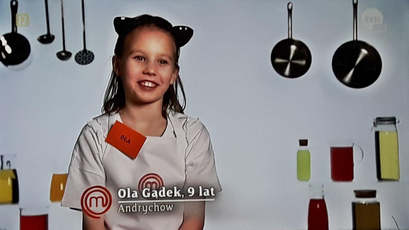 9-letnia Ola reprezentuje Andrychów w piątej edycji MasterChef Junior