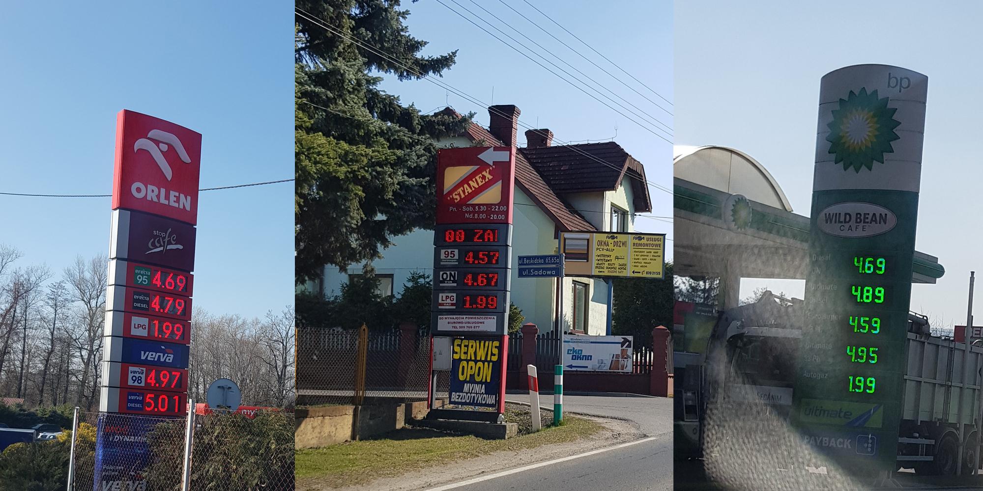 Ceny paliw ostro w dół. Gdzie najtaniej?