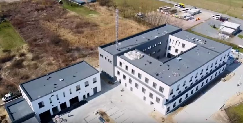 Tak prezentuje się nowa siedziba powiatowej policji w Wadowicach [VIDEO]