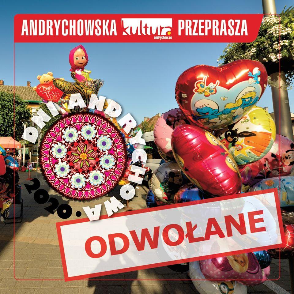 Kolejne miasto - tym razem Andrychów - odwołuje imprezy