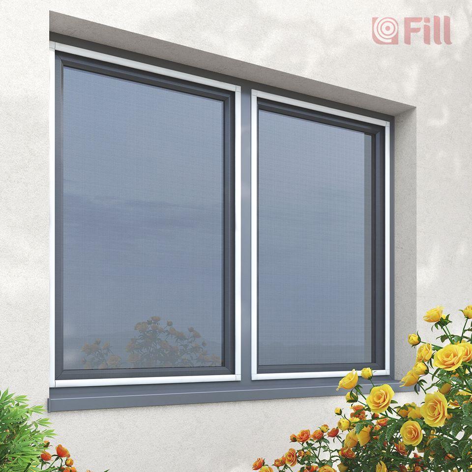 Moskitiery  FILL – rozwiązania dostosowane do każdego rodzaju okna
