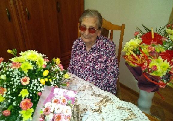Setne urodziny pani Zofii. Wójt dzwoniła do jubilatki z życzeniami