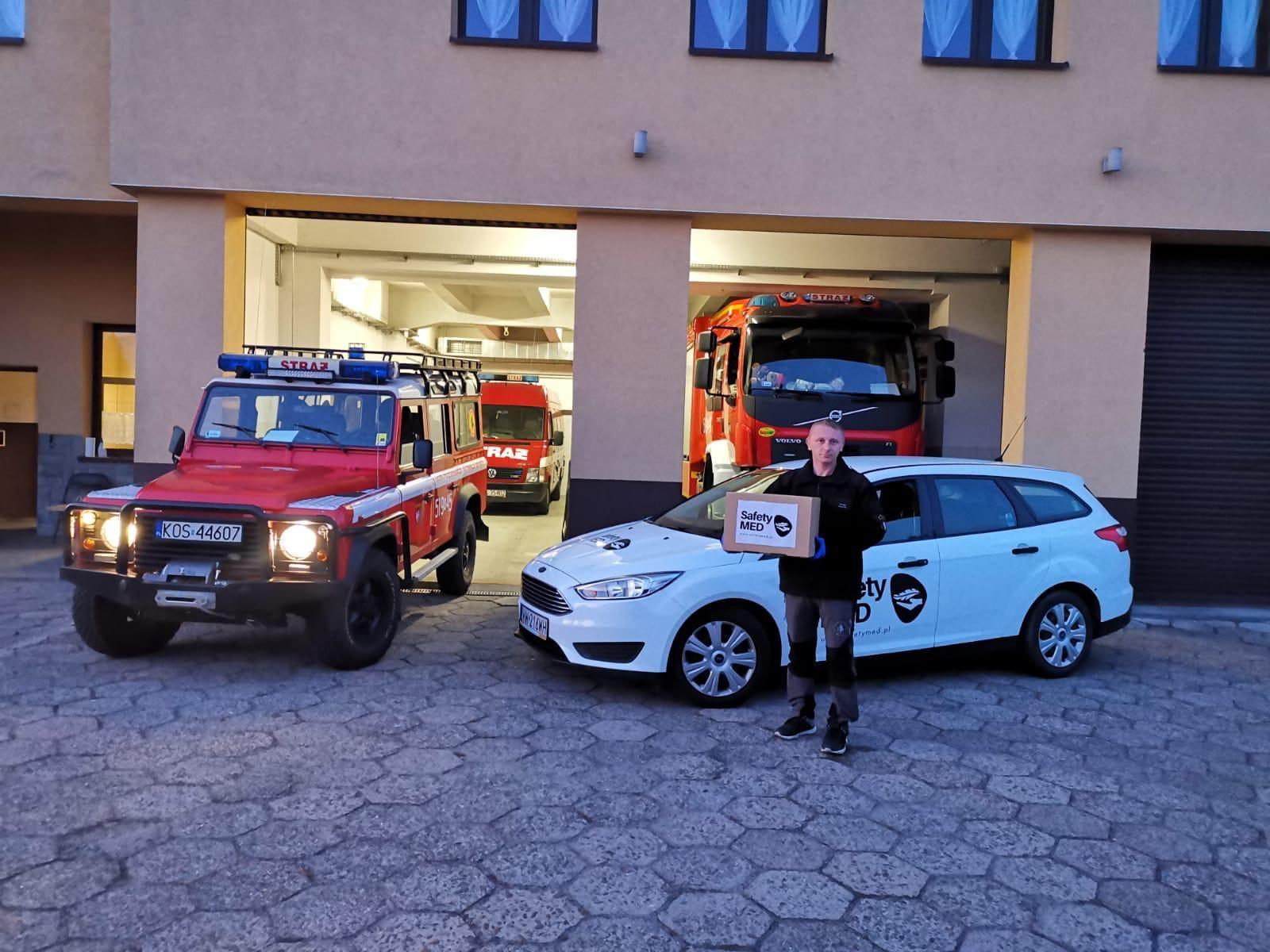 Kolejna pomoc dla strażaków i ratowników medycznych