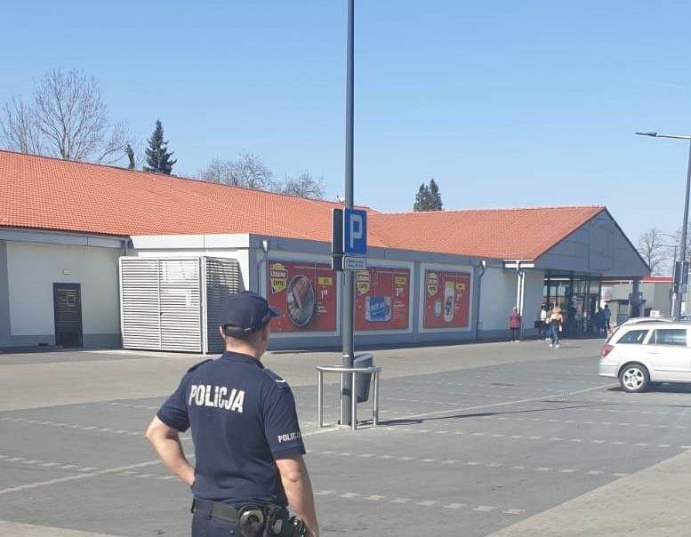 Policyjne interwencje w sklepach