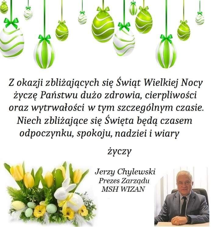 Życzenia świąteczne od Małopolskiej Spółdzielni Handlowej WIZAN