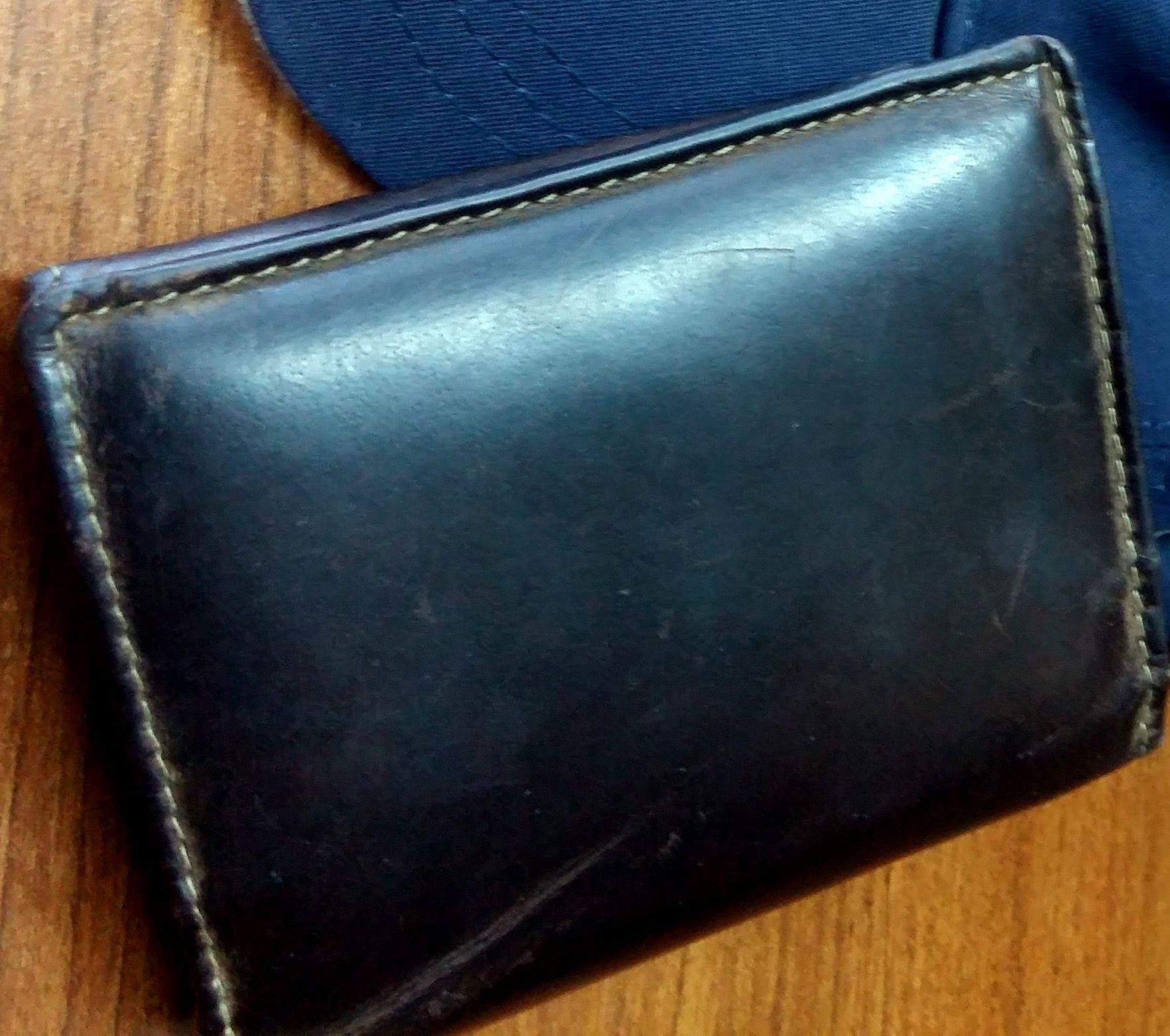 Policjant znalazł portfel z gotówką i dokumentami