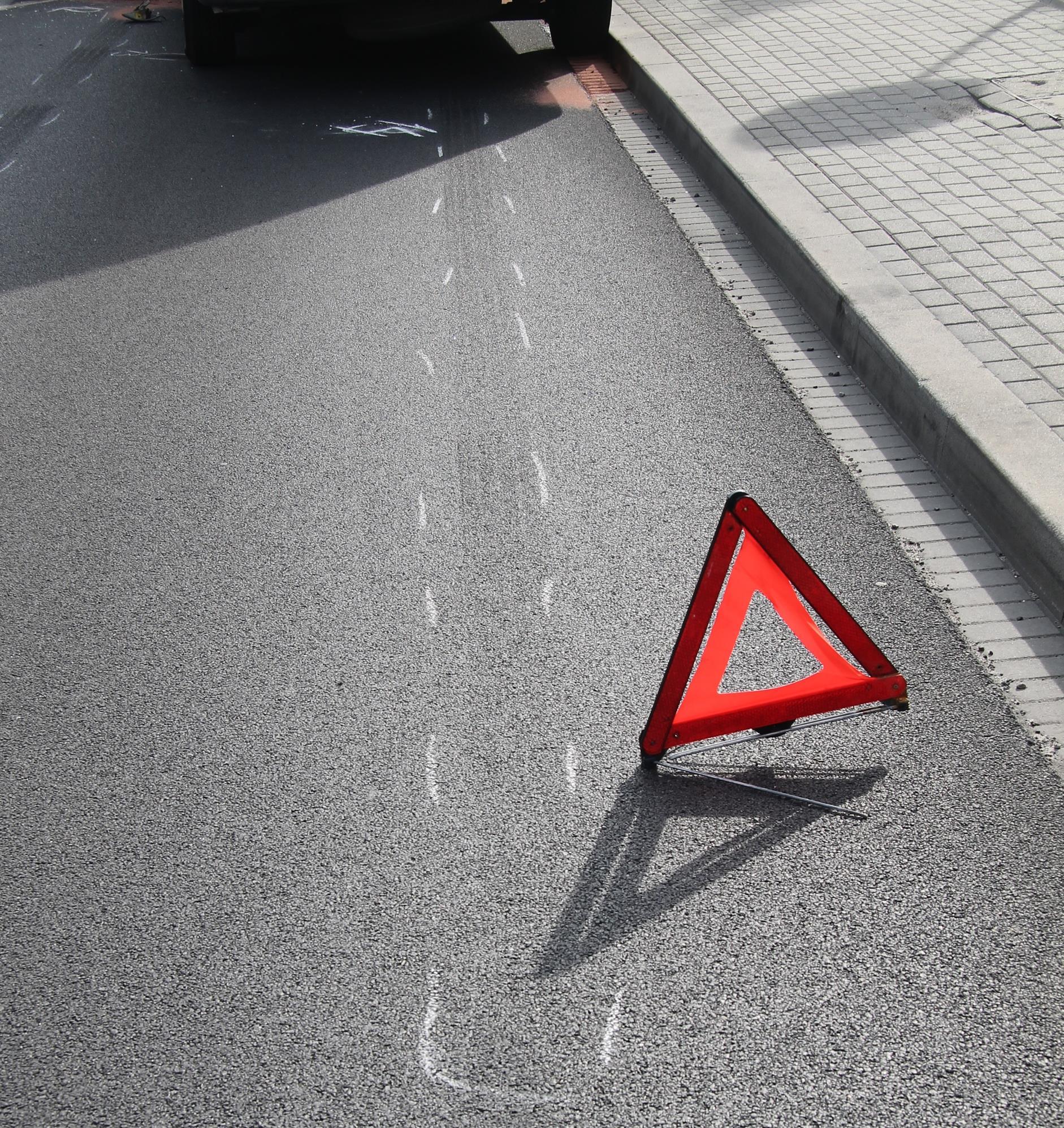Kolizja drogowa na Beskidzkiej z udziałem mieszkańca Andrychowa i Osieka