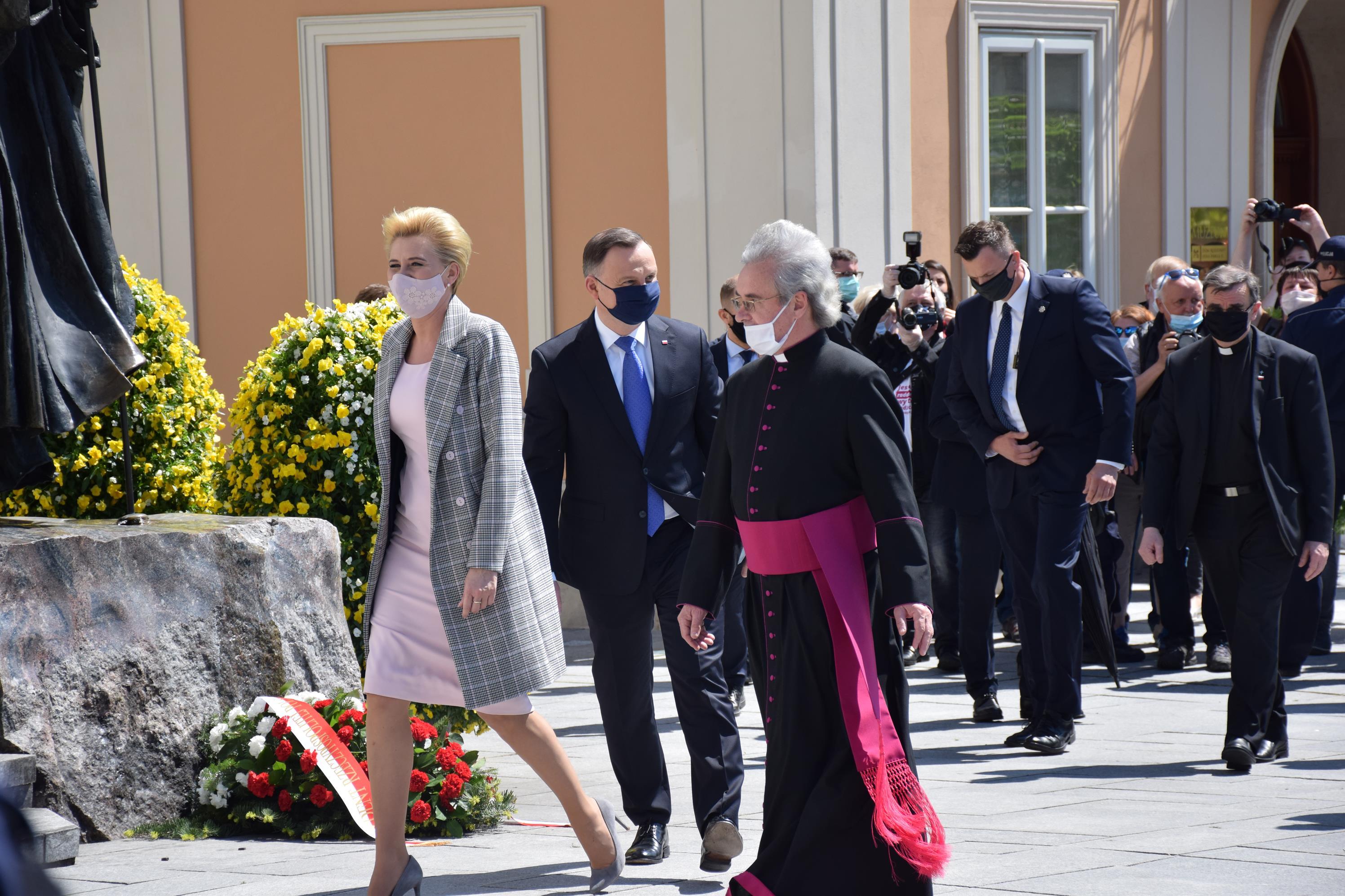 Prezydent Andrzej Duda w Wadowicach [FOTO] [AKTUALIZACJA]