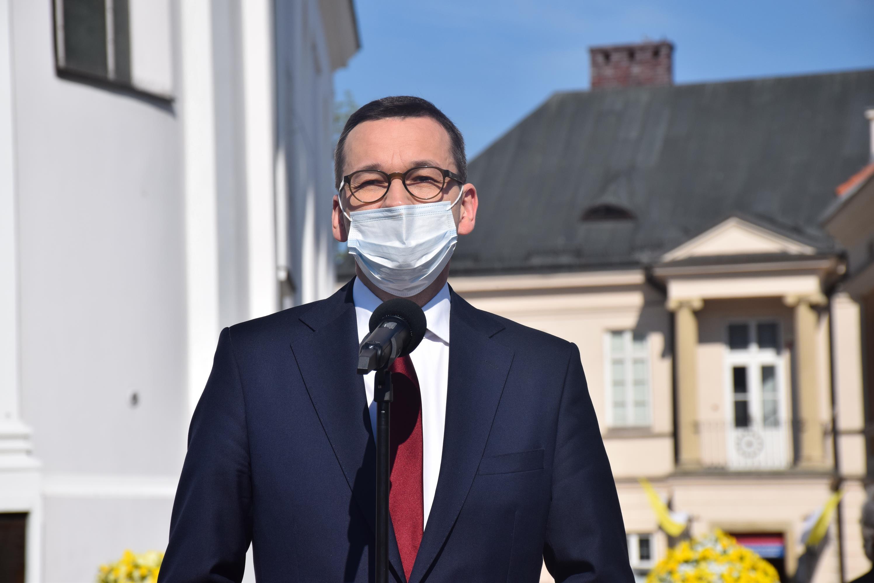 Premier Morawiecki to kolejny polityk, który odwiedził w poniedziałek Wadowice [FOTO] [AKTUALIZACJA]