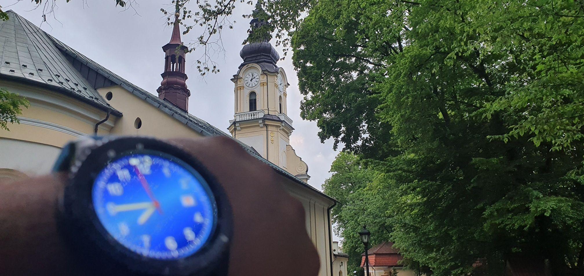 Awaria zegara na kościelnej wieży?