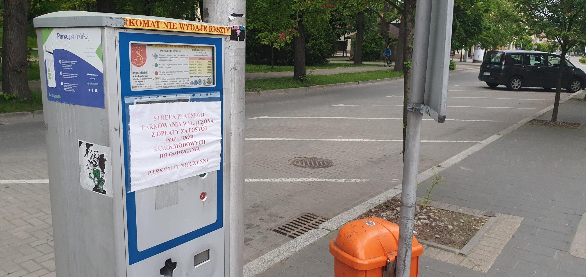 Stare parkomaty idą w odstawkę, za prawie 100 tys. zł Andrychów kupuje nowe