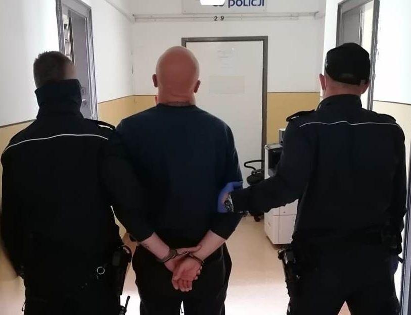 Tymczasowy areszt za kradzież rozbójniczą