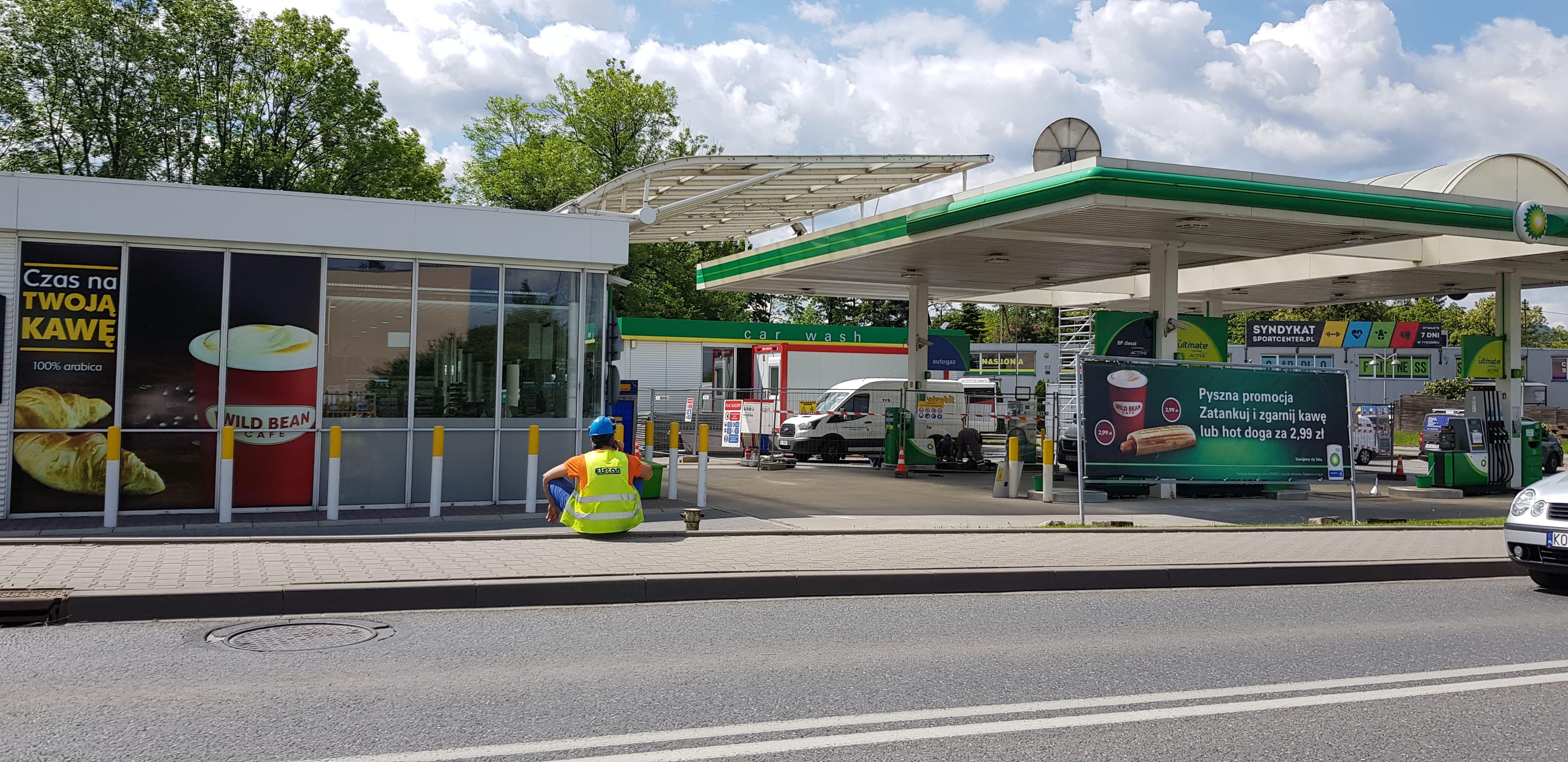 Stacja paliw nieczynna