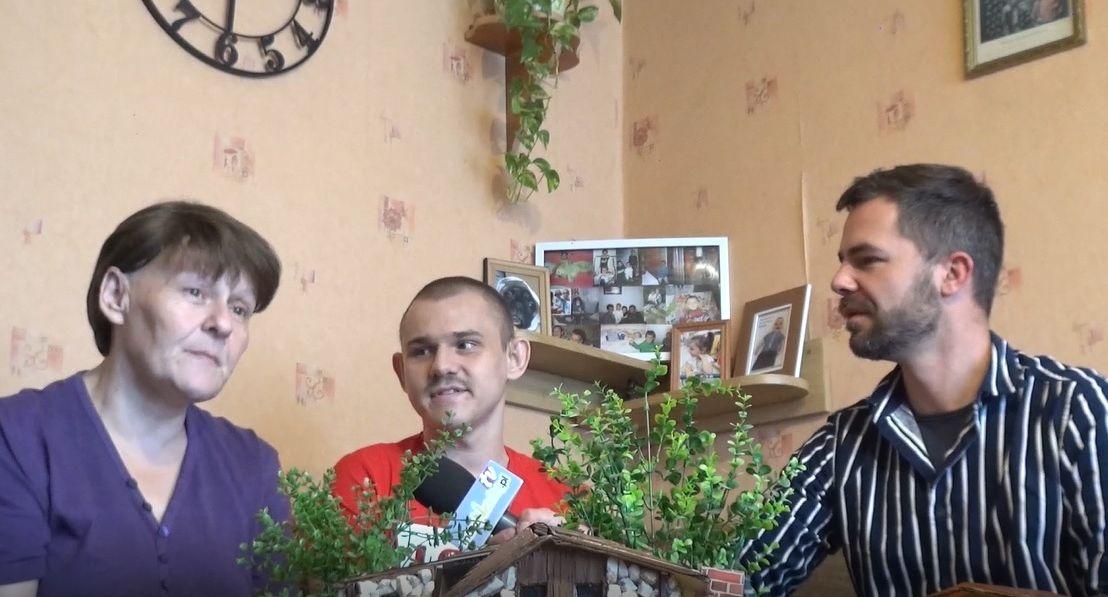 Damian z Andrychowa. Doświadczony przez los człowiek z pasją [VIDEO]