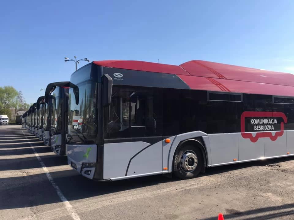 Autobusy PKS Bielsko - Biała również w gminie Andrychów