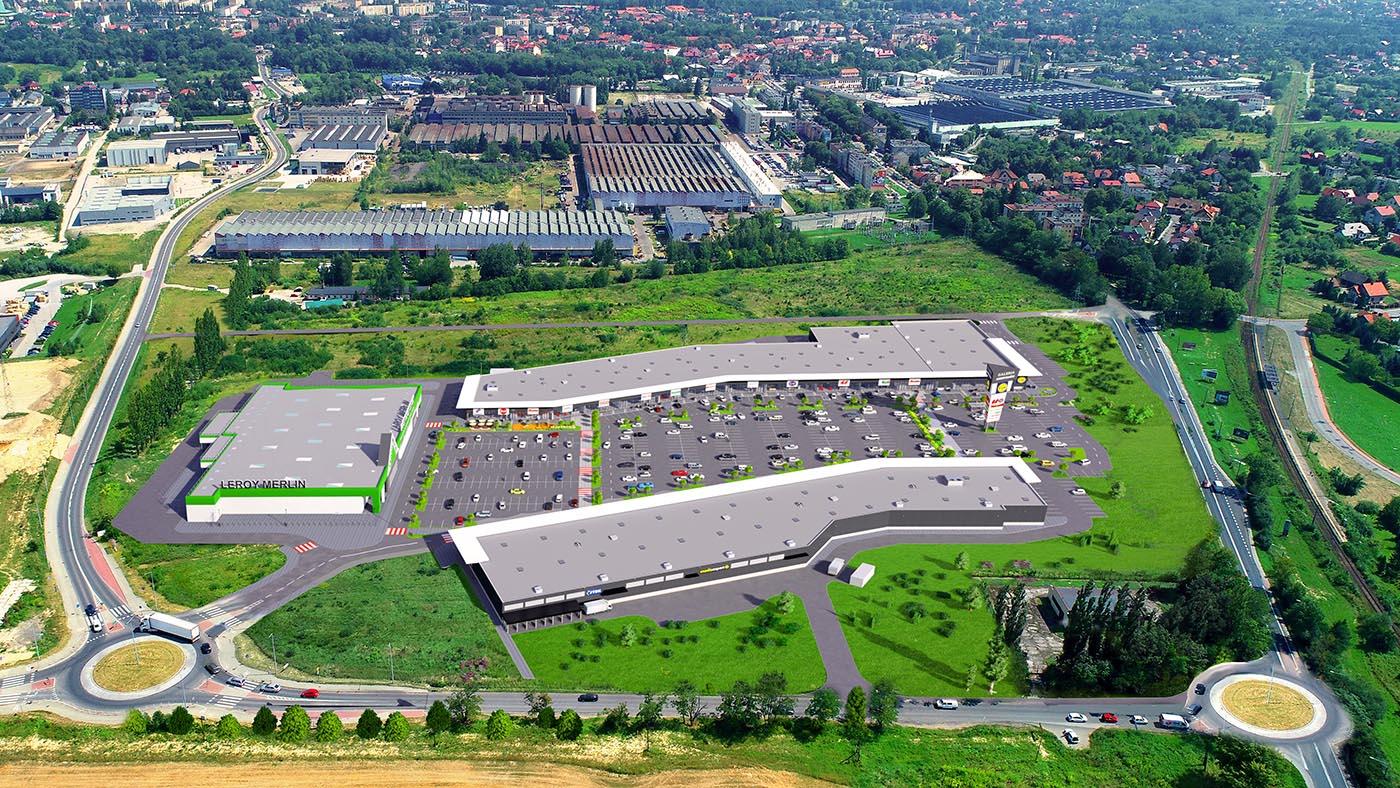 Inwestor szuka wykonawcy budowy galerii handlowej w Andrychowie