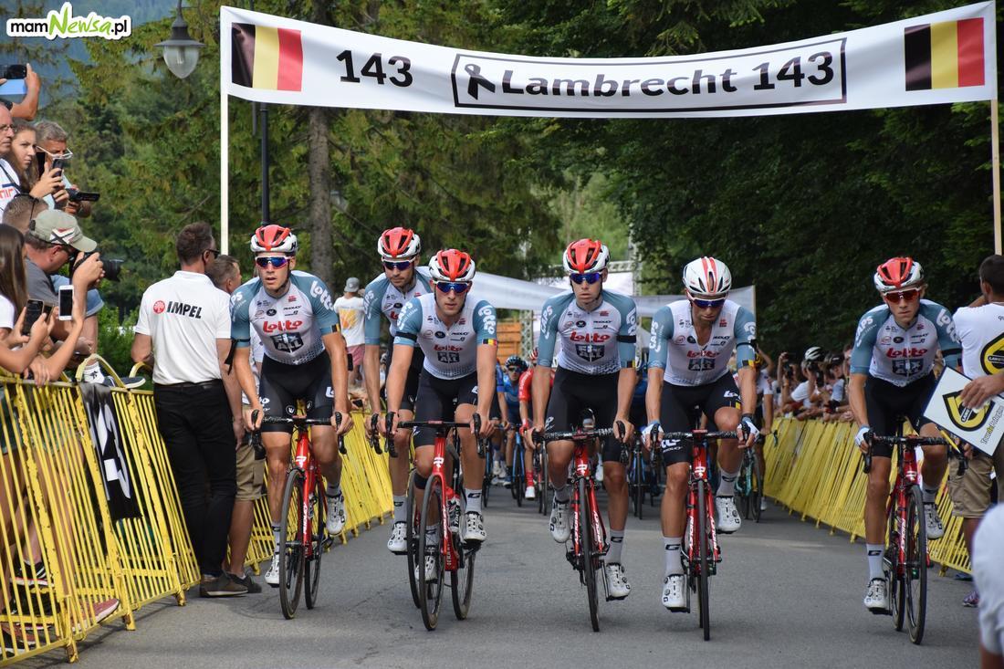 Zmiana trasy wyścigu Tour de Pologne w Andrychowie
