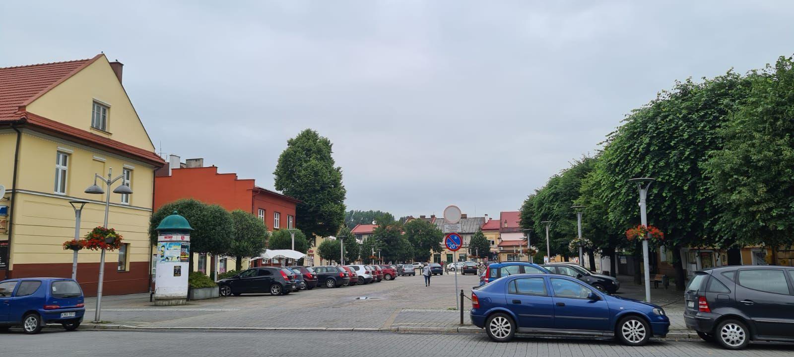 Rewolucja w centrum Andrychowa. Płatny parking na ulicy Legionów i pl. Mickiewicza