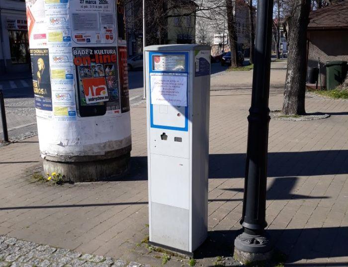 Koniec darmowego parkowania w centrum Andrychowa