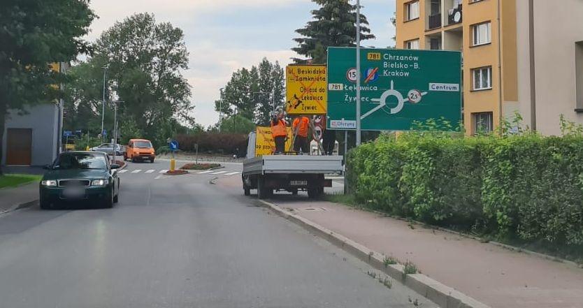 Utrudnienia na drogach w Andrychowie, od 1 lipca most będzie zamknięty