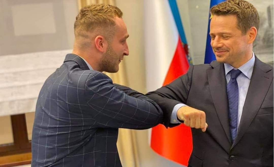 Kandydat na Prezydenta RP Rafał Trzaskowski!