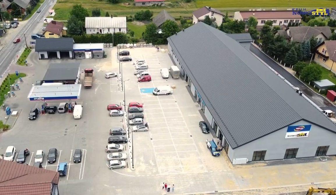 Nowy pawilon handlowy ze sklepem Pepco [VIDEO]