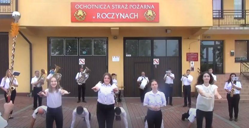 Bałkanica w wykonaniu Orkiestry Dętej w Roczynach w ramach GaszynChallenge [VIDEO]