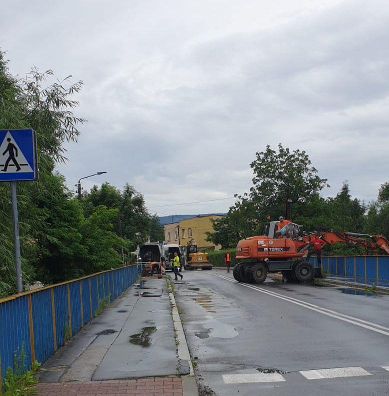 Most w Andrychowie został zamknięty