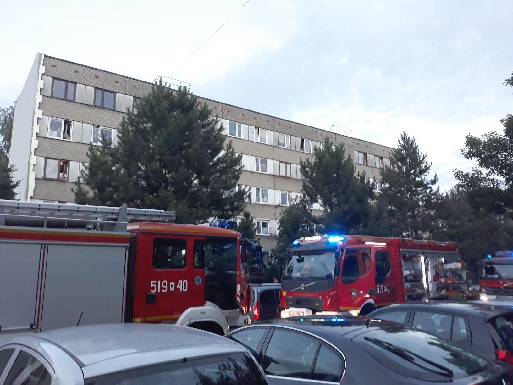 Apel strażaków do mieszkańców bloków