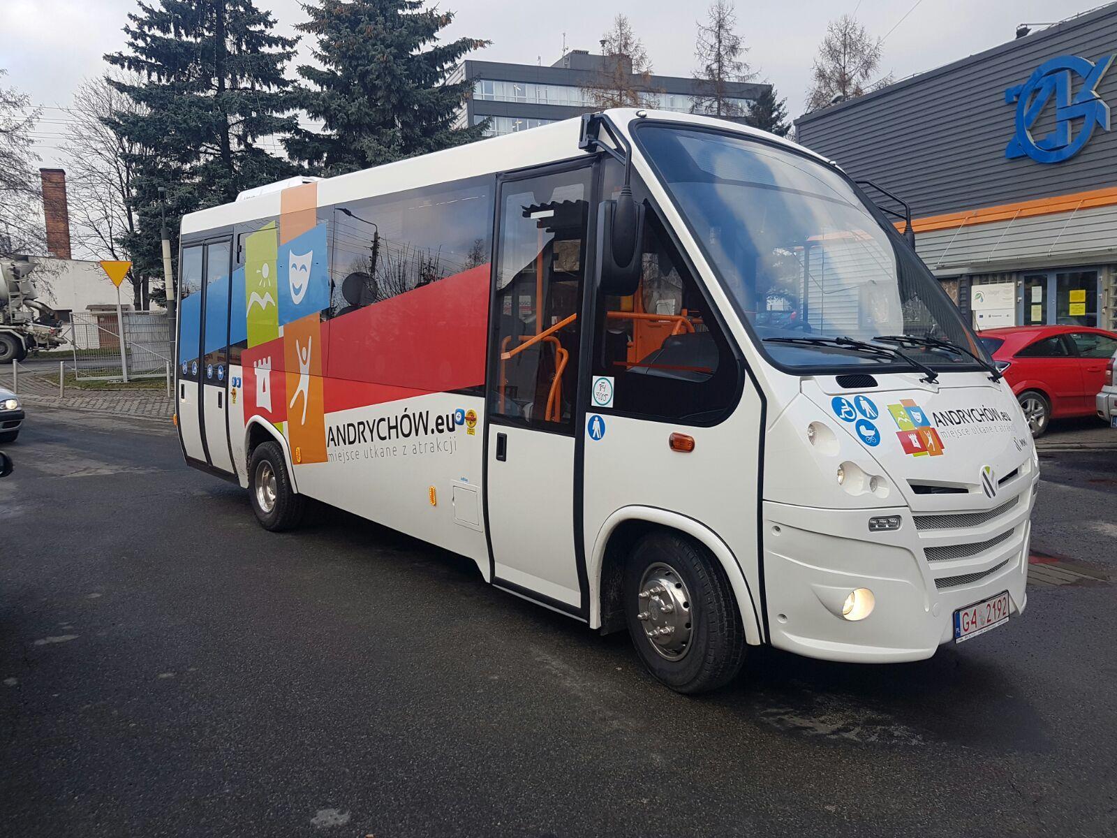Od 20 lipca zmiana rozkładu jazdy autobusów w gminie Andrychów
