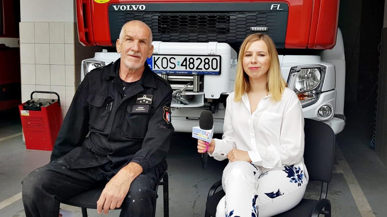 Józef Szafran po 46 latach pracy w OSP: nie lubimy, kiedy politycy nam obiecują