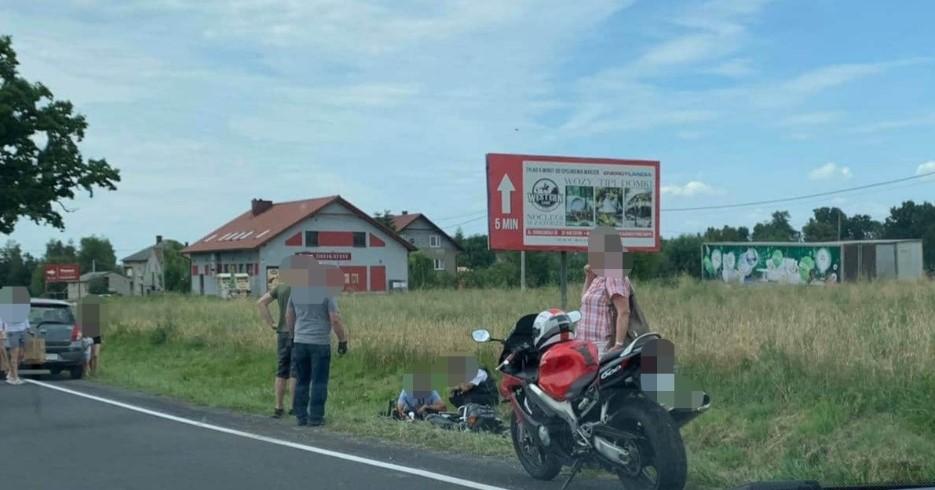 Kolejny wypadek z udziałem motocykla [AKTUALIZACJA]