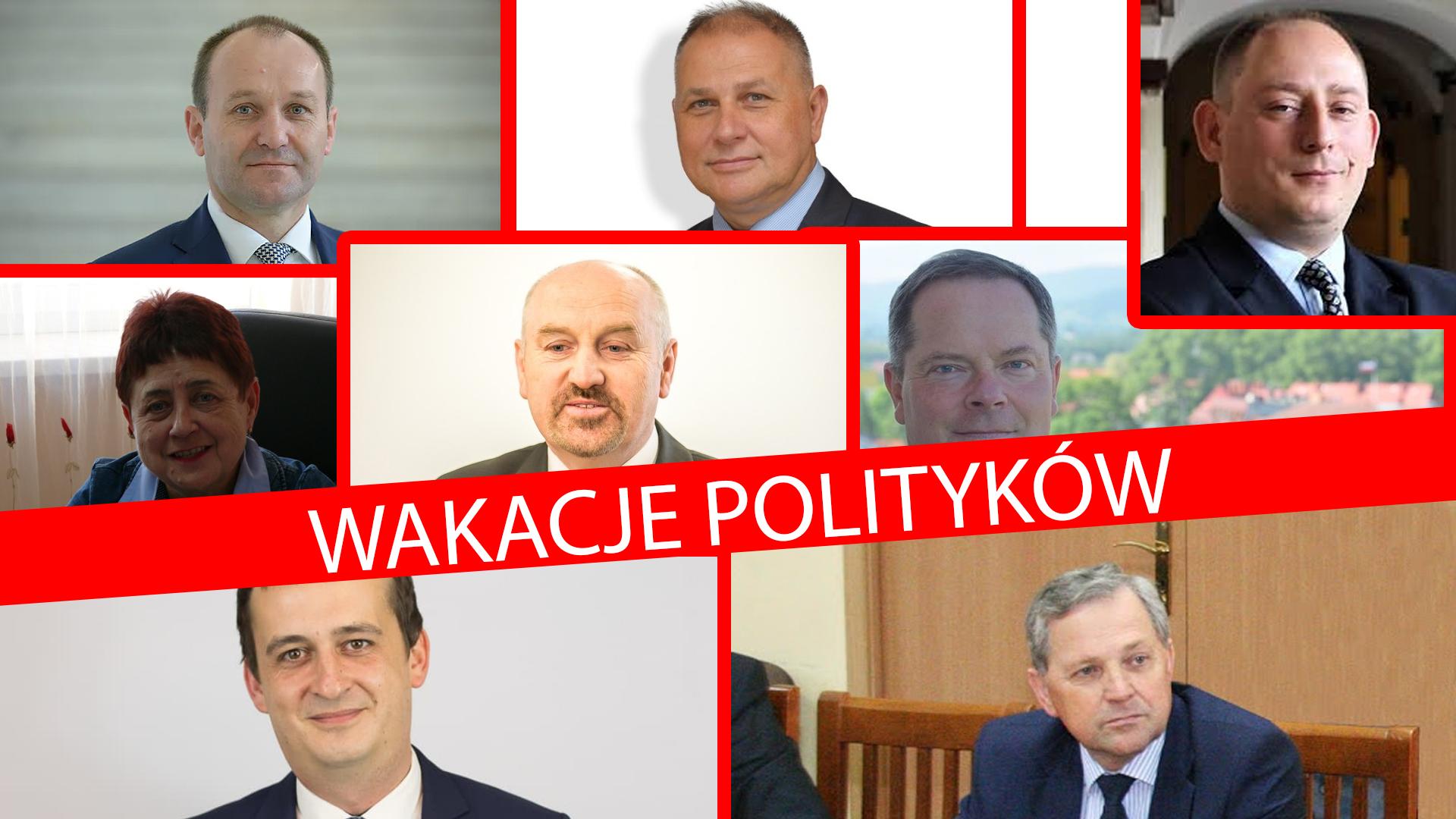 Politycy na wczasach, ale nie wszyscy