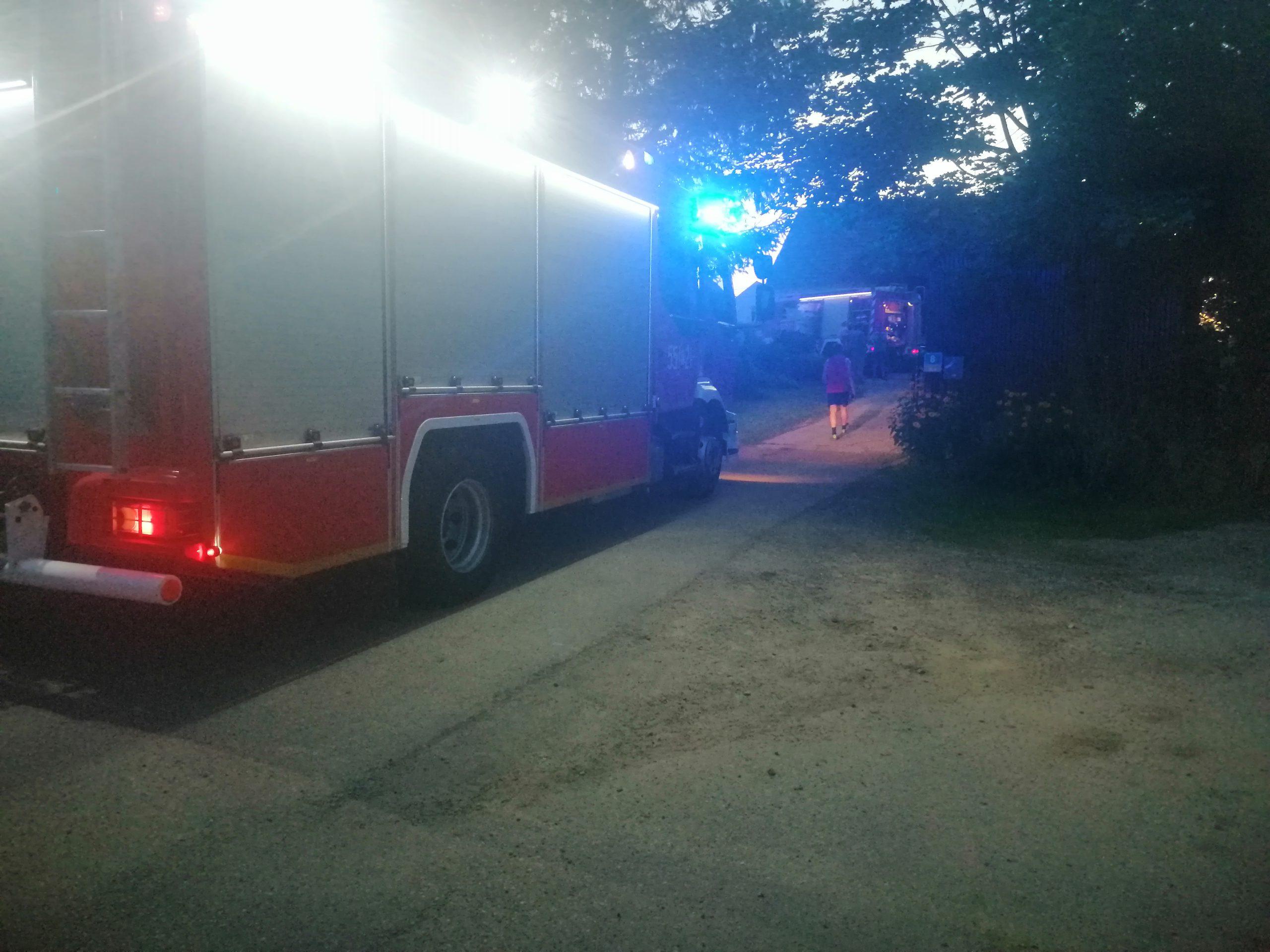 Wieczorem doszło do pożaru budynku. Strażacy szybko opanowali sytuację
