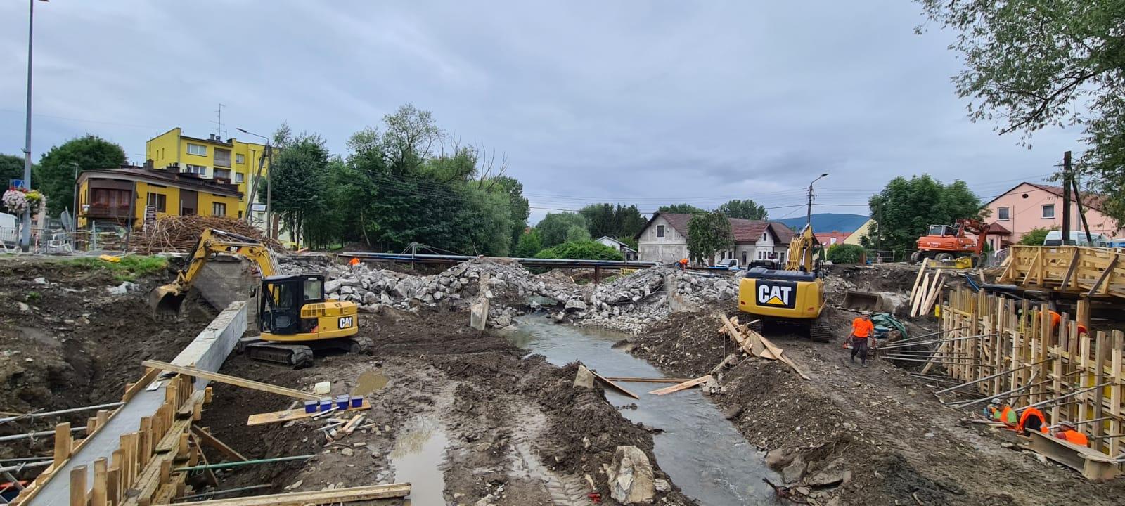 Stary most w Andrychowie zniknął z powierzchni ziemi [FOTO]