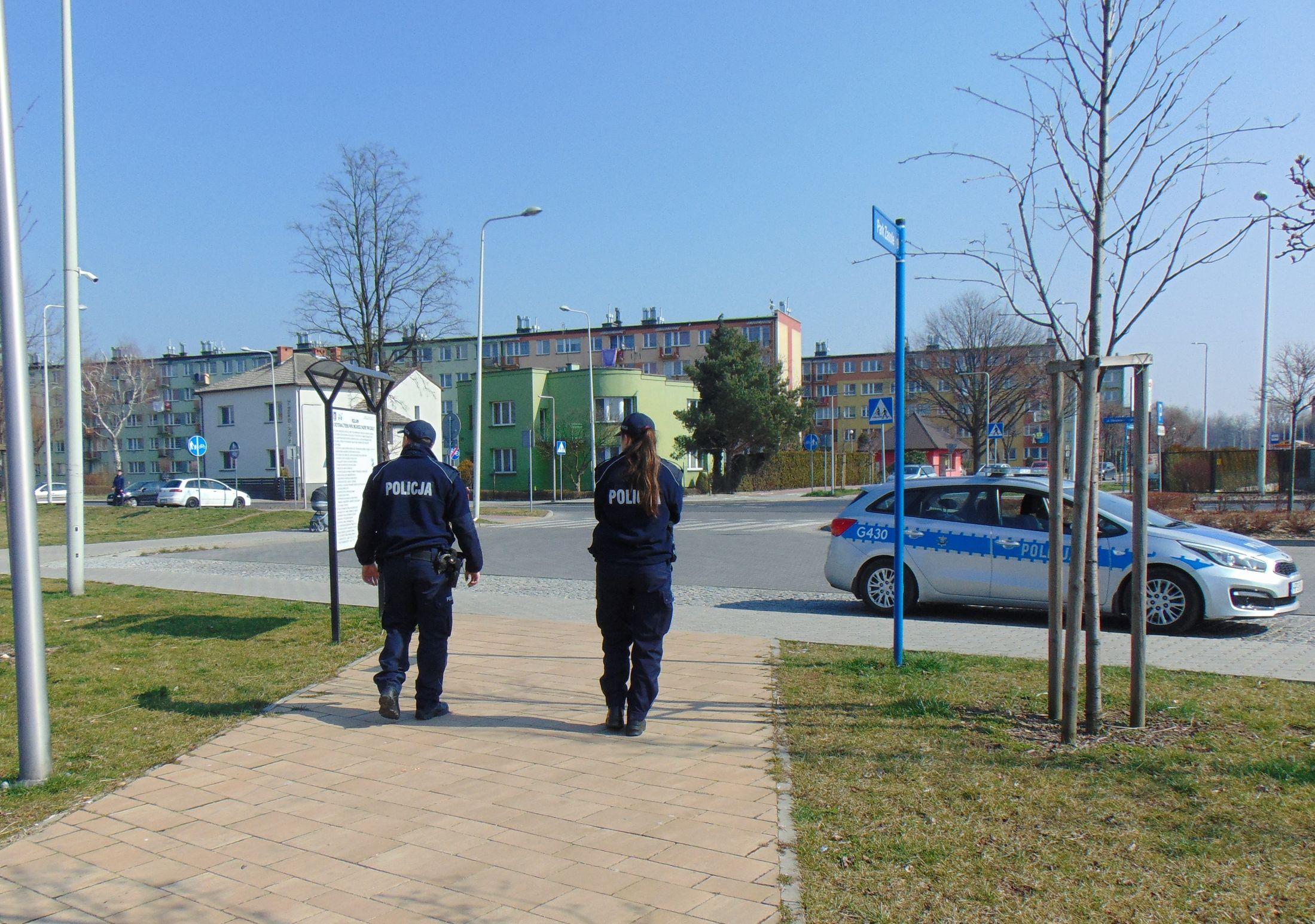 Policjanci znowu będą pilnować, czy mieszkańcy przestrzegają restrykcji