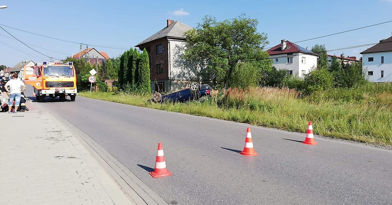 Dachowanie w Stroniu, są poszkodowani