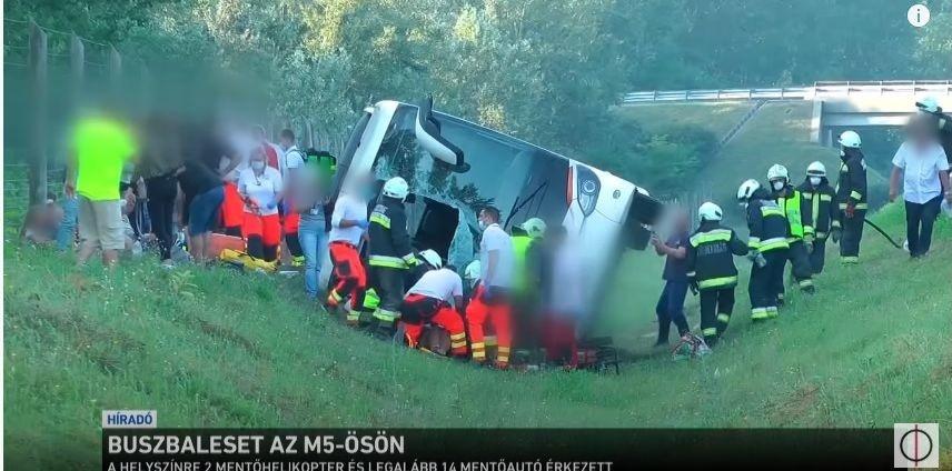Wypadek autokaru z turystami, którzy wracali z wczasów z Bułgarii