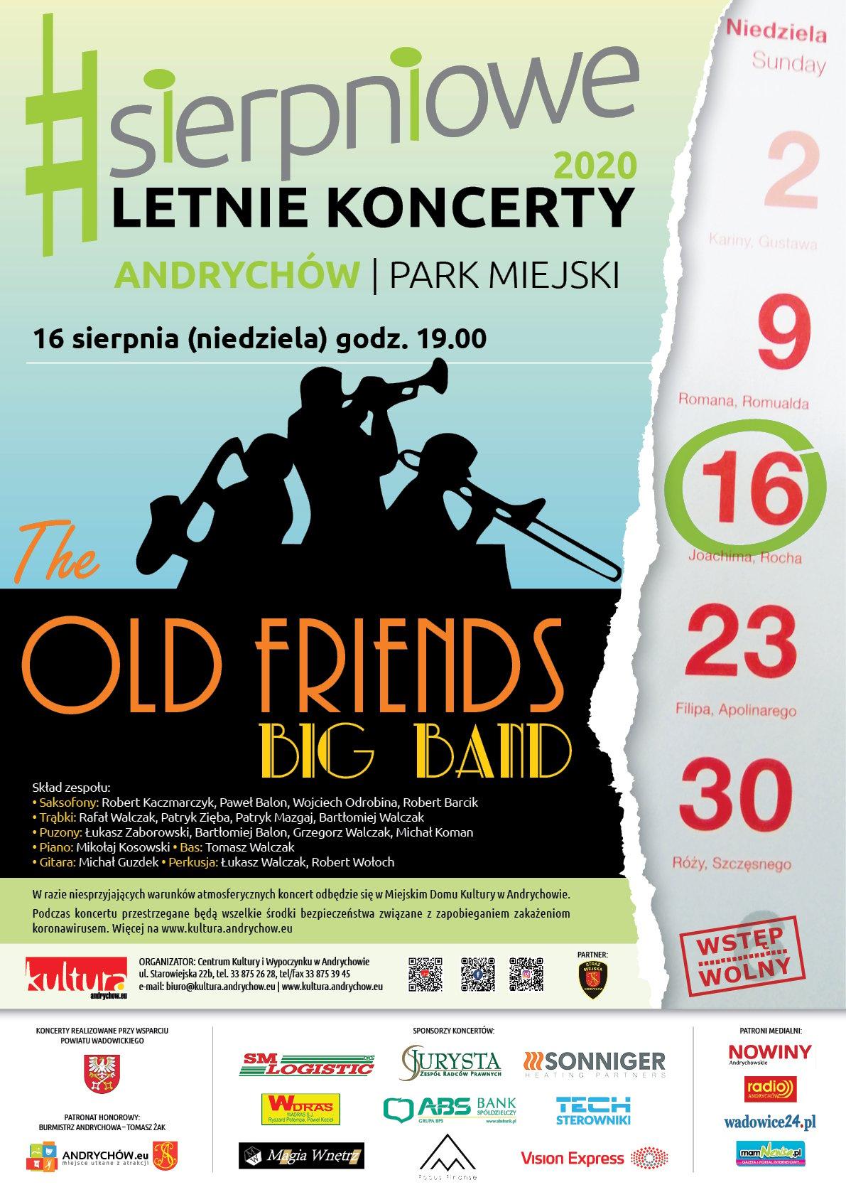 W niedzielę kolejny sierpniowy koncert w parku