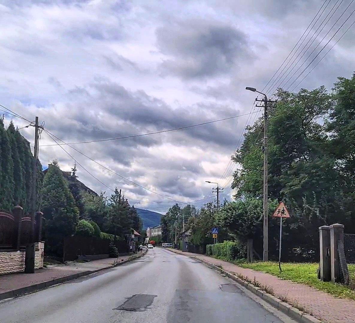 Garncarska w Andrychowie do remontu