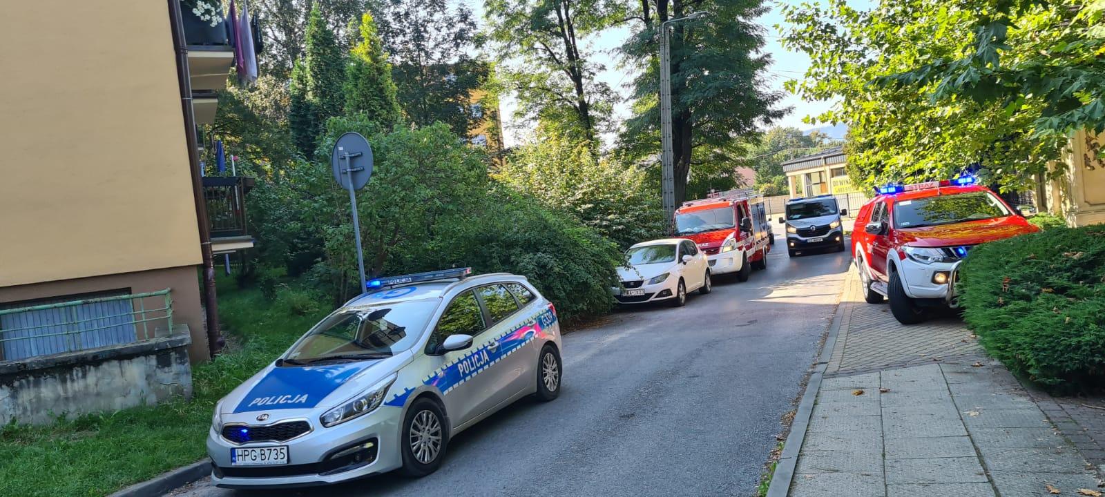 Ewakuacja w Andrychowie, znaleziono skład amunicji [FOTO] [AKTUALIZACJA]