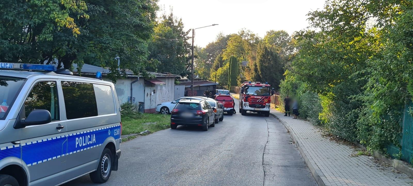 Centralne Biuro Śledcze Policji zatrzymało właściciela składu amunicji i pocisków w Andrychowie