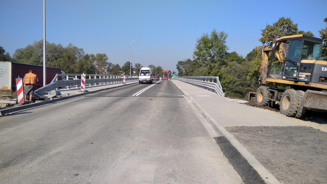 Na most na Skawie wróciły samochody