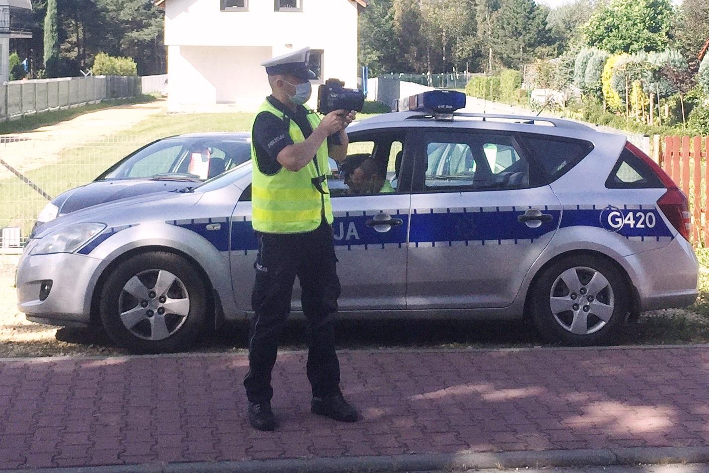 Pijany motocyklista wpadł podczas policyjnej akcji
