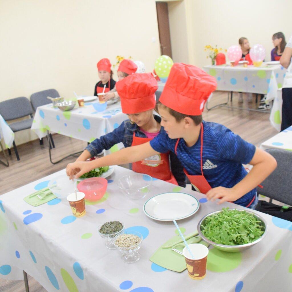 Dzieci kochają gotować!