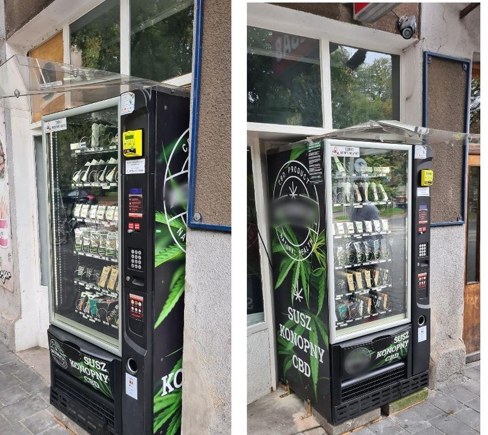 Konopny automat w Andrychowie. Co to takiego?