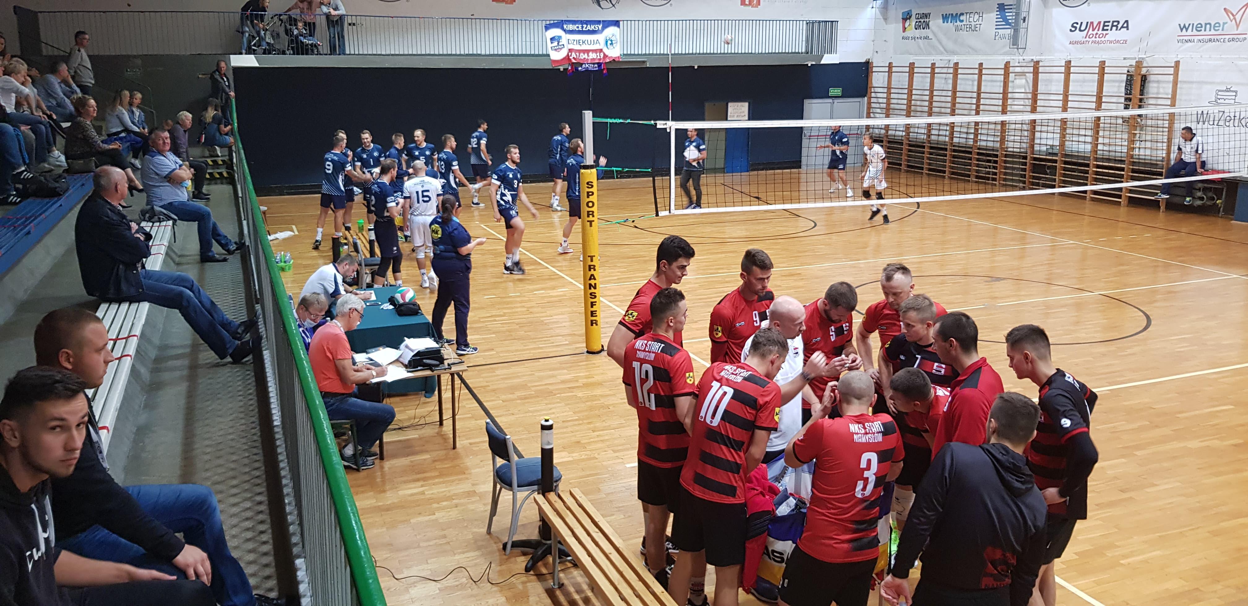 MKS Andrychów rozgromił przeciwnika w sobotnim meczu